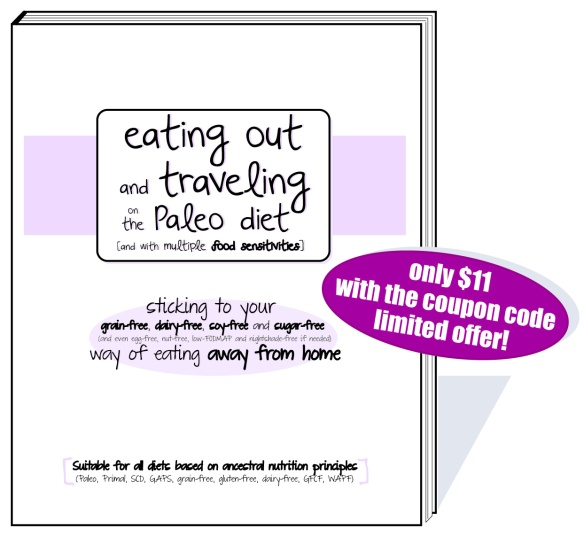 eating out and traveling on the Paleo diet