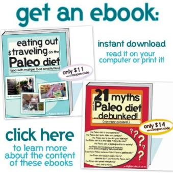 Try one of my Paleo ebooks!